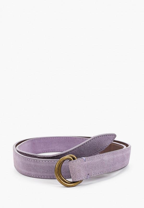 женский ремень модные истории, фиолетовый
