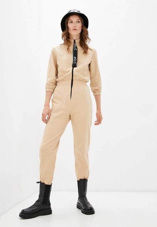 женский комбинезон с брюками tatika, бежевый