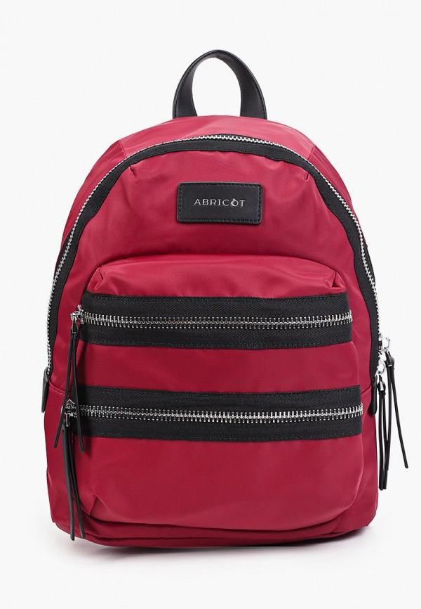 женский рюкзак abricot, бордовый