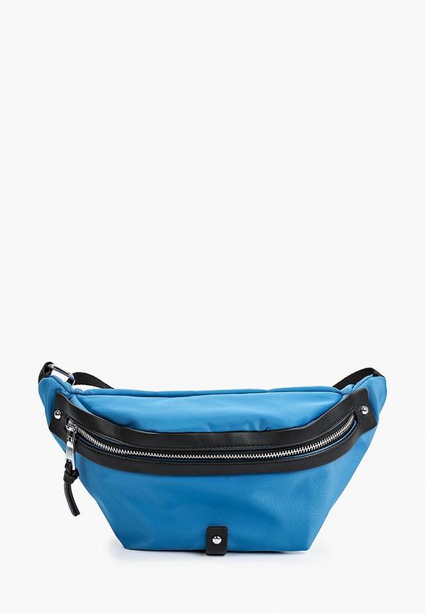 женская поясные сумка abricot, синяя