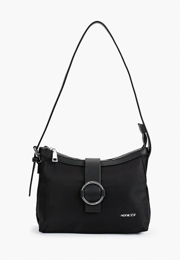 женская сумка с ручками abricot, черная