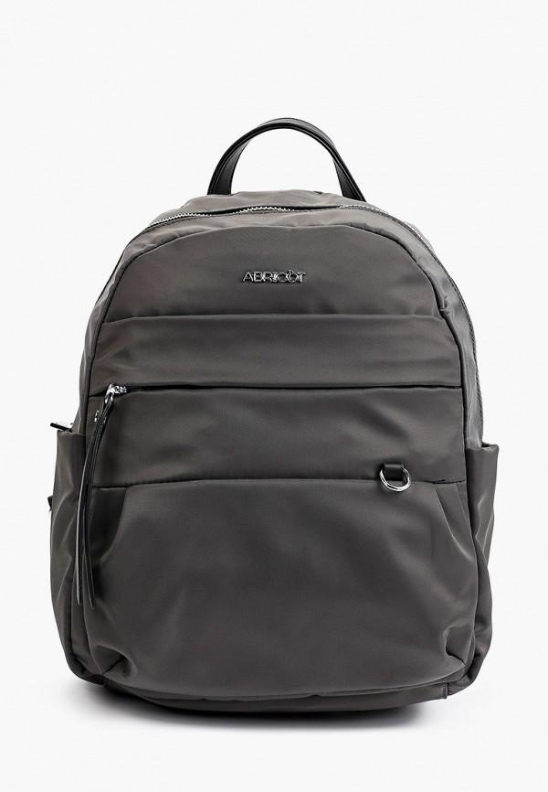 женский рюкзак abricot, серый