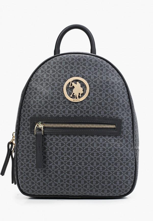 женский рюкзак u.s. polo assn, черный