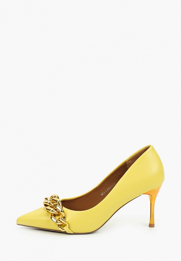 женские туфли-лодочки sprincway, желтые