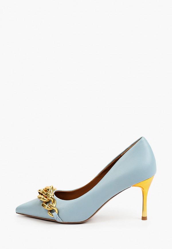 женские туфли-лодочки sprincway, голубые