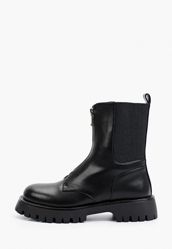 женские высокие ботинки may vian, черные