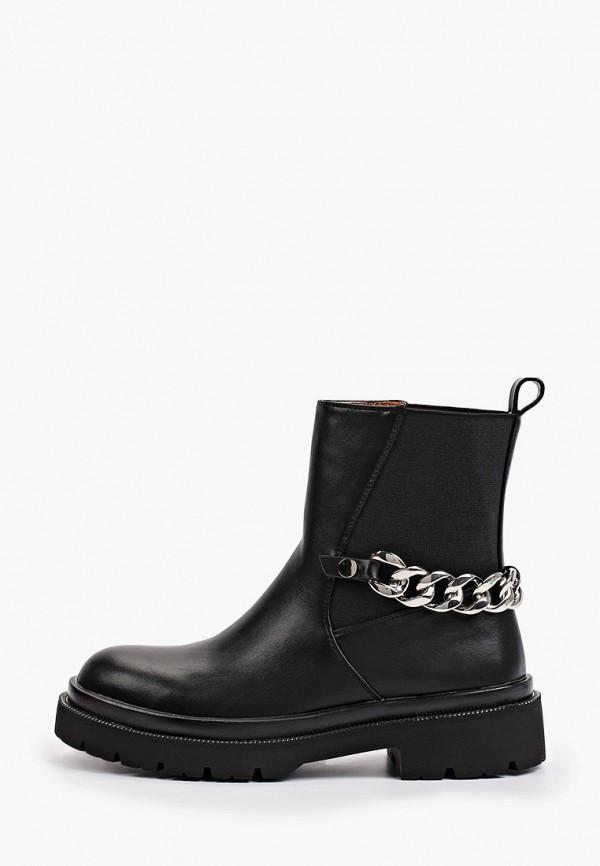 женские ботинки-челси may vian, черные
