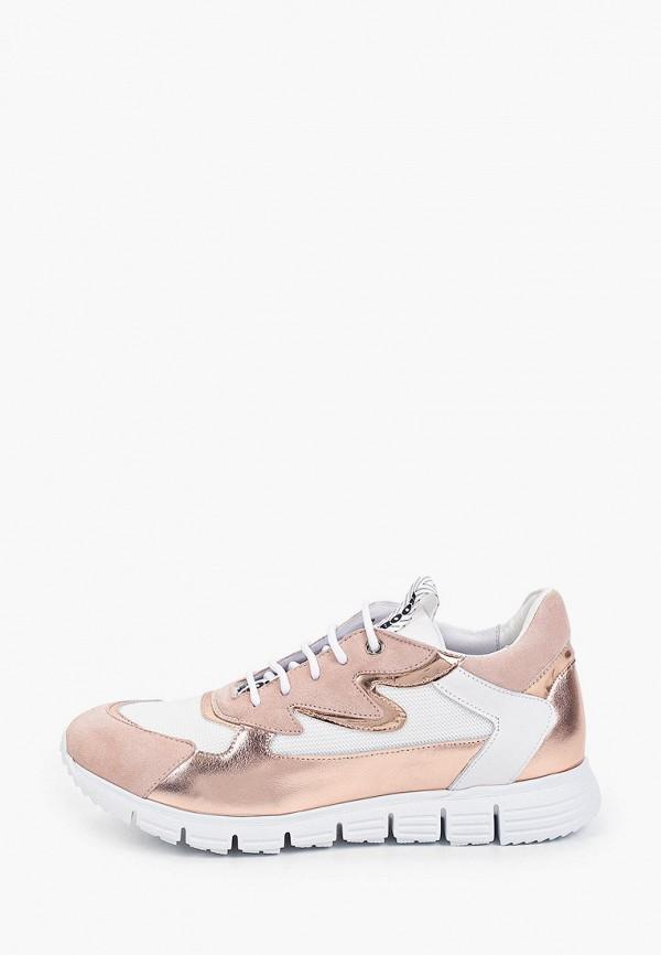 женские низкие кроссовки roobin's, золотые