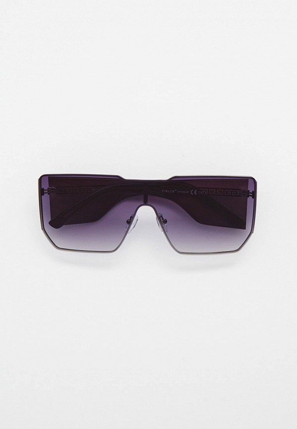 женские квадратные солнцезащитные очки furlux, серые