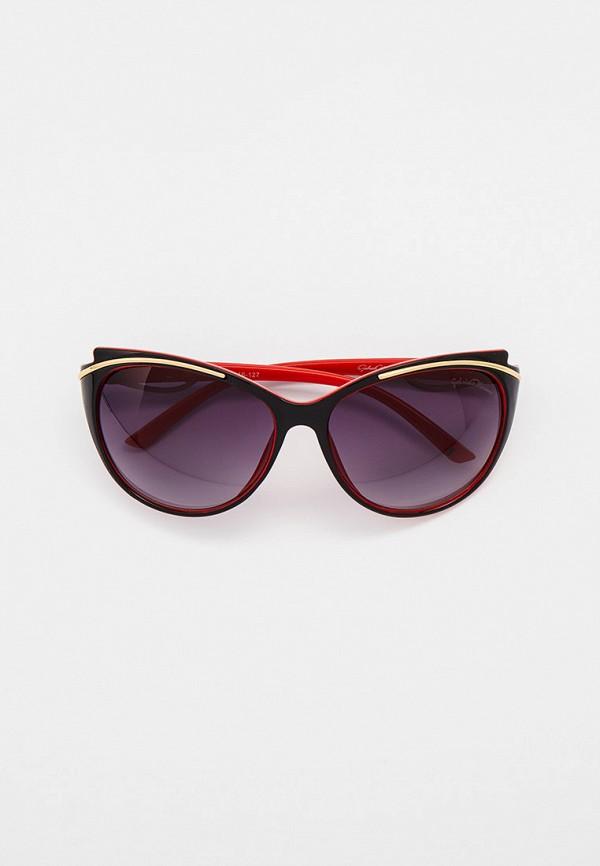 женские круглые солнцезащитные очки gabriela marioni, черные
