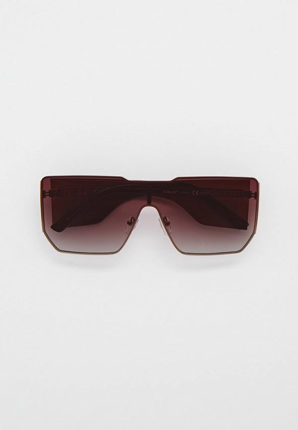 женские солнцезащитные очки furlux, коричневые