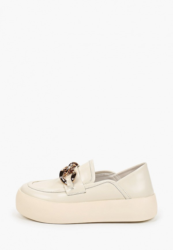 Лоферы Abricot белого цвета