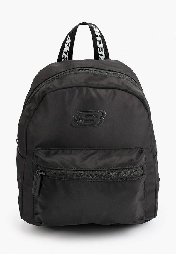 женский рюкзак skechers, черный