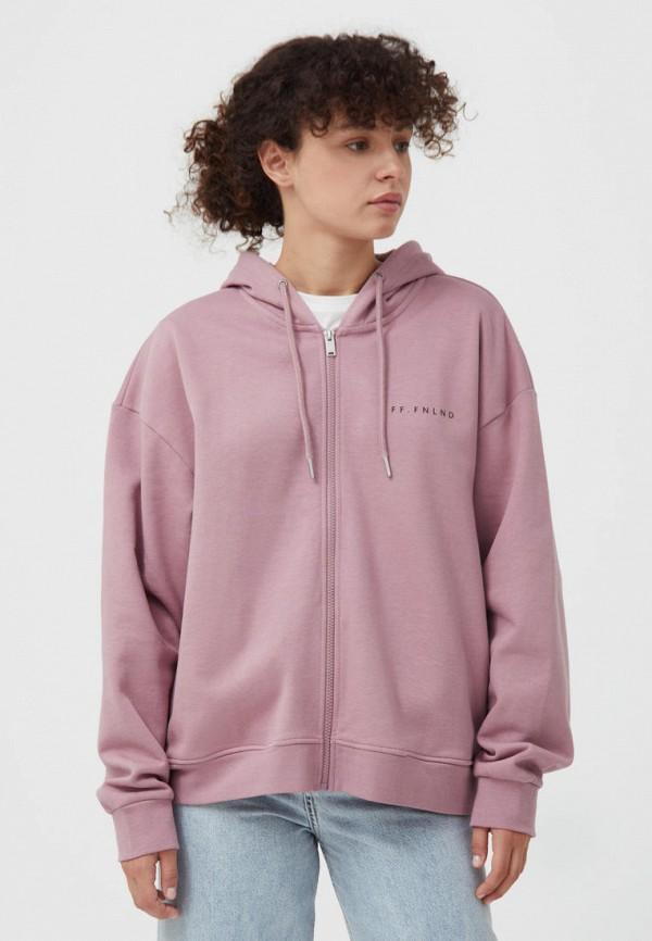 Толстовка Finn Flare розового цвета