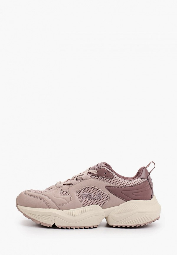 женские низкие кроссовки fila, фиолетовые