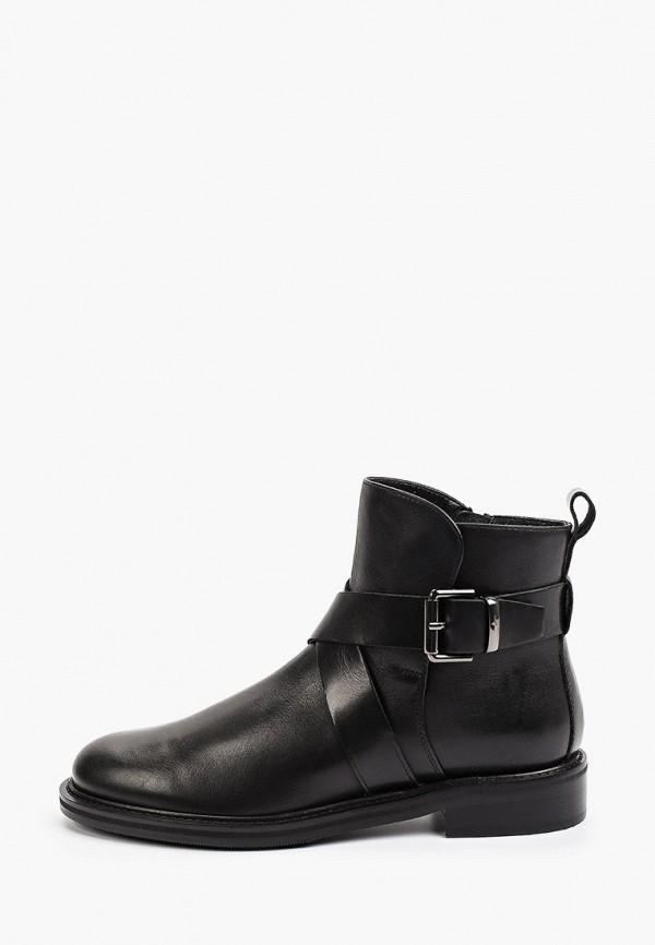 женские высокие ботинки giotto, черные
