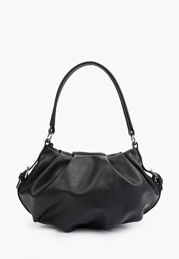 женская сумка с ручками медведково, черная