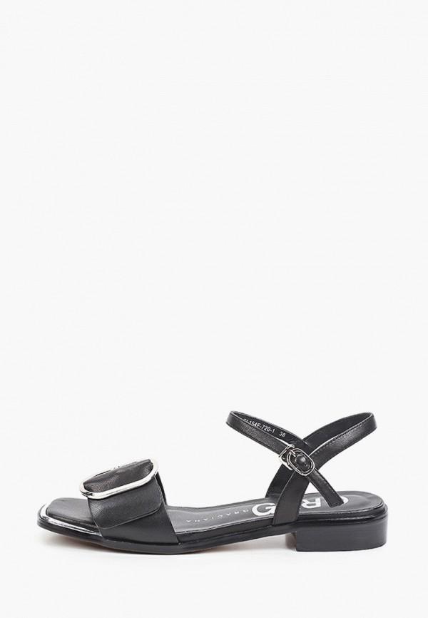 женские сандалии graciana, черные