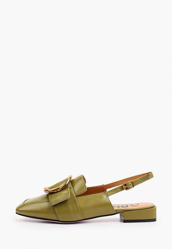 женские туфли graciana, зеленые