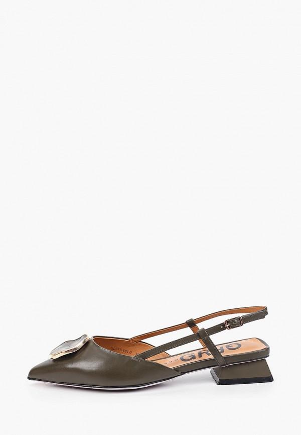 женские туфли graciana, хаки