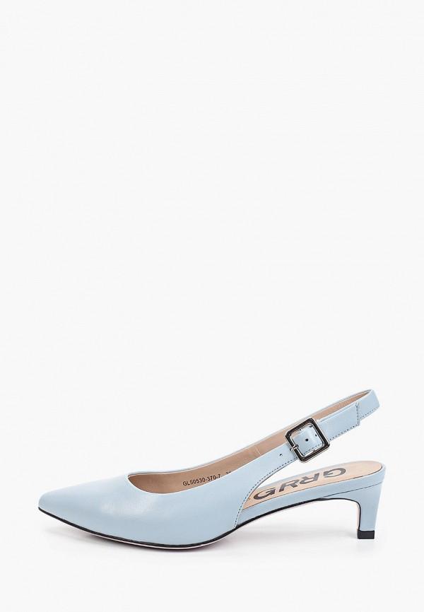 женские туфли graciana, голубые
