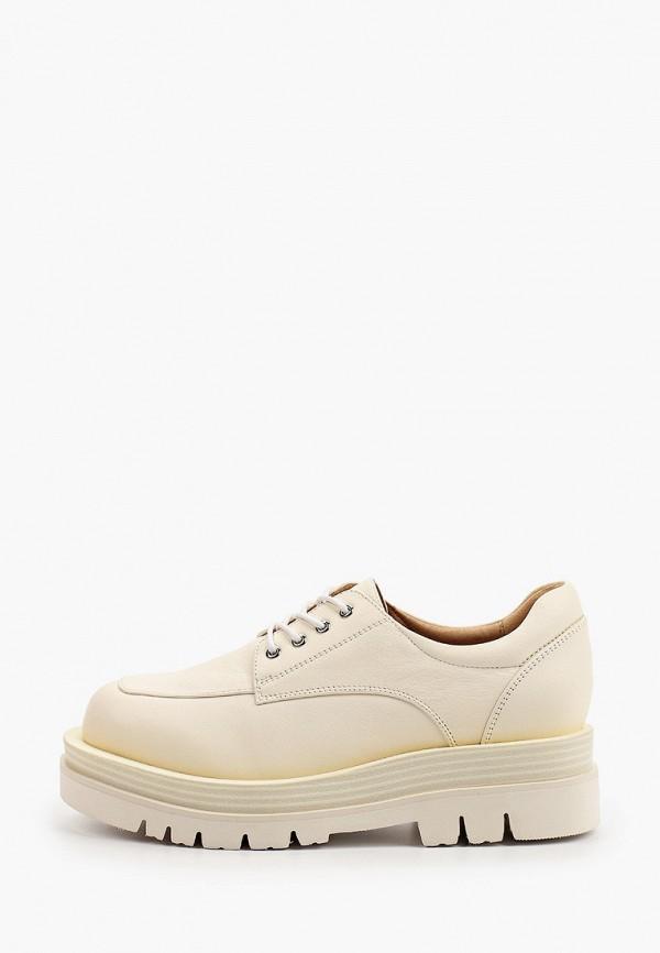 женские низкие ботинки graciana, бежевые