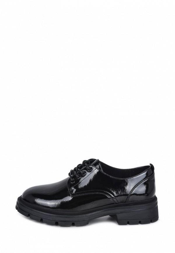 женские ботинки-оксфорды alessio nesca, черные