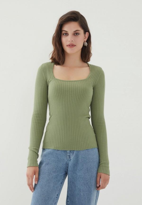женский джемпер zarina, зеленый