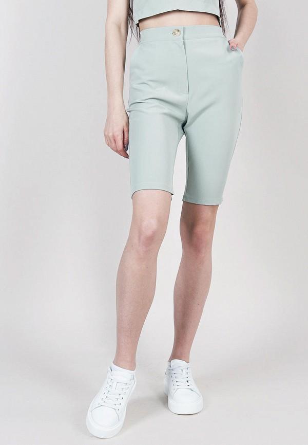 женские повседневные шорты romashka, зеленые