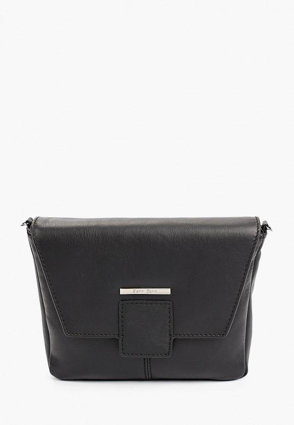 женская сумка через плечо gianni conti, черная