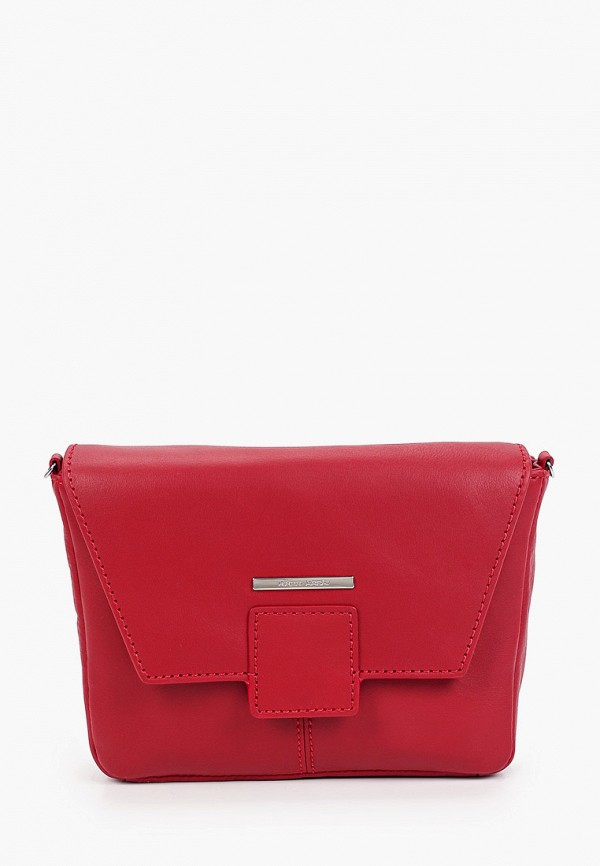 женская сумка через плечо gianni conti, красная