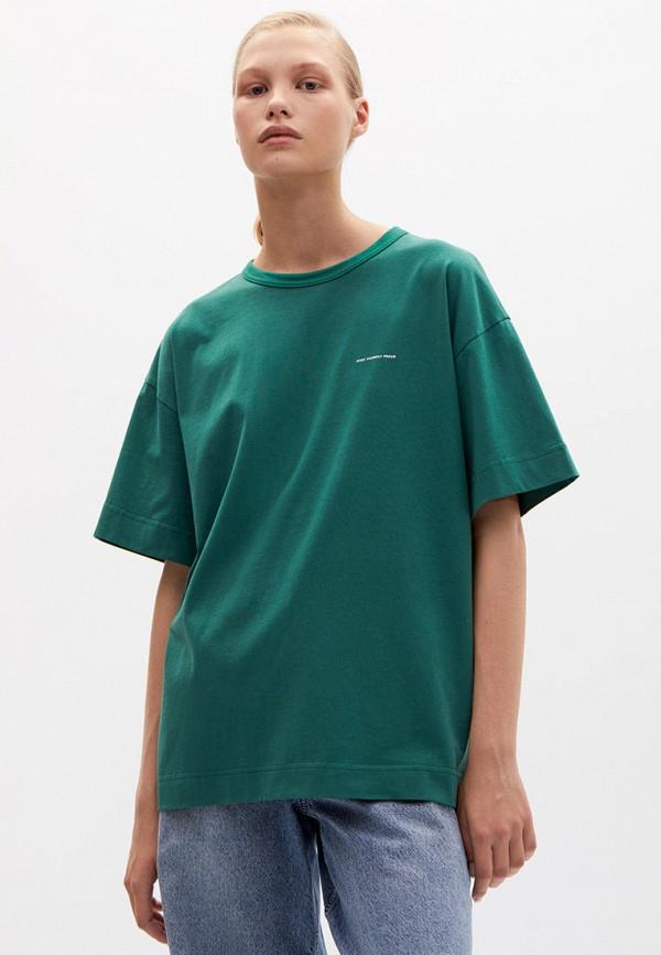 женская футболка lime, зеленая