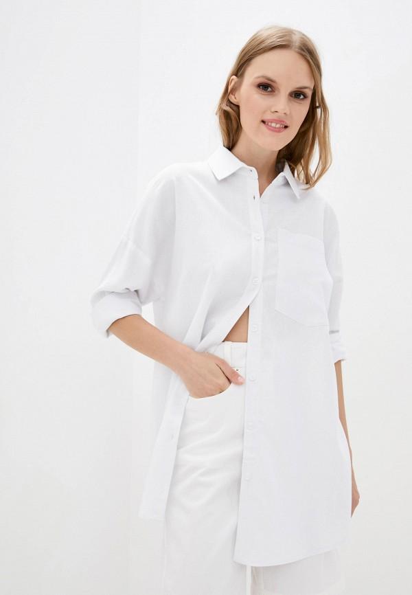 женская рубашка с длинным рукавом katarina ivanenko, белая