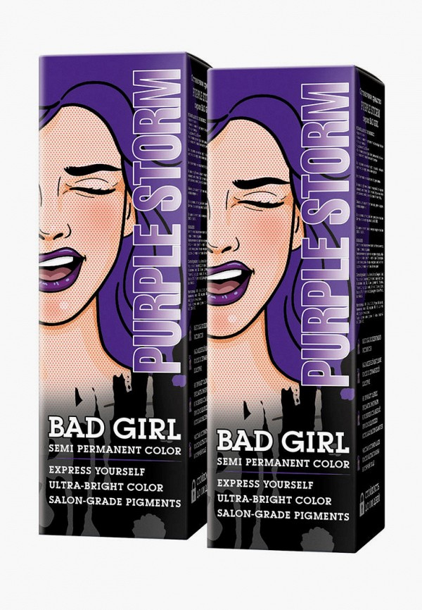 женский краска для волос bad girl, фиолетовый