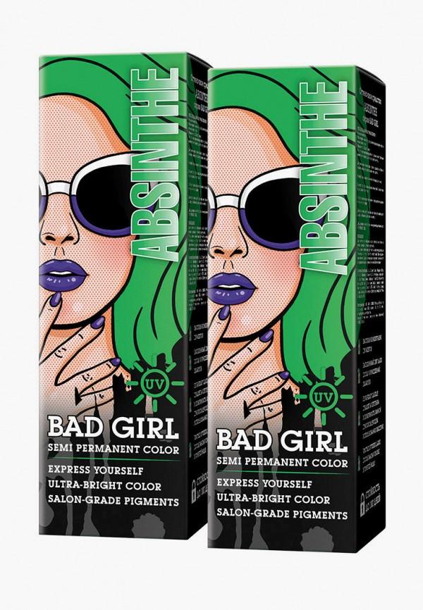 женский краска для волос bad girl, зеленый