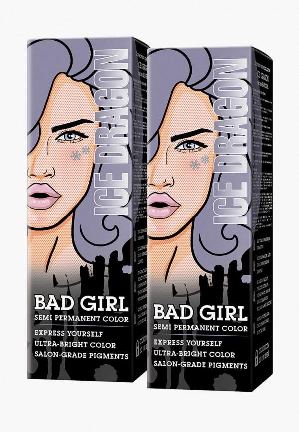 женский краска для волос bad girl, серый