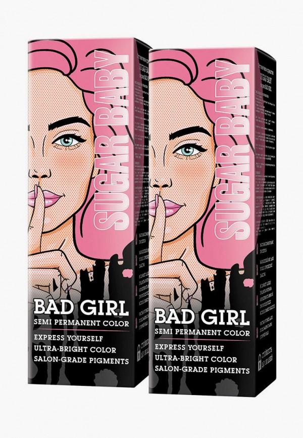 женский краска для волос bad girl, розовый