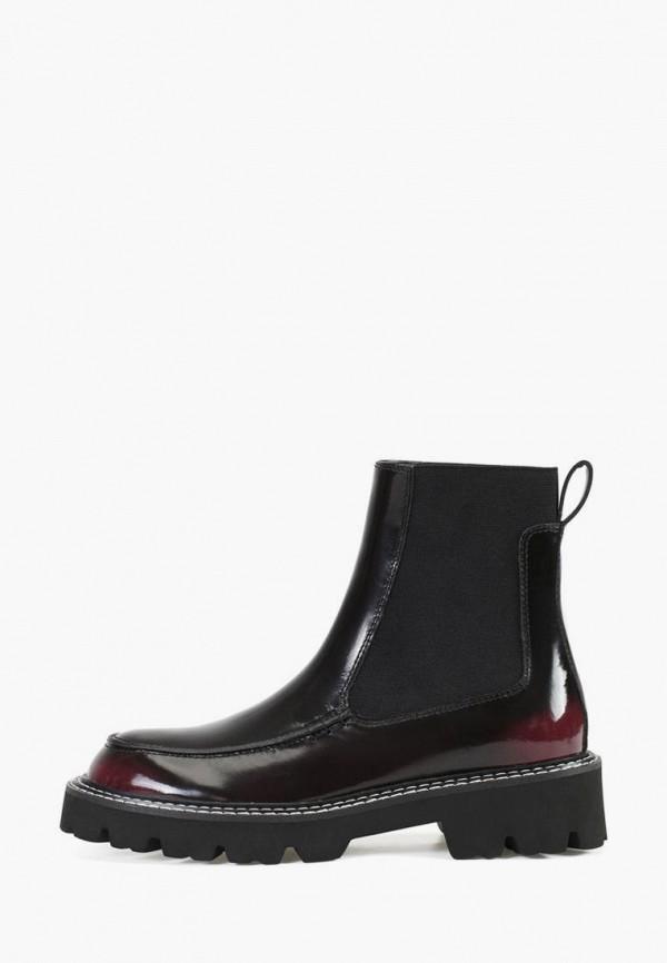женские ботинки-челси portal, бордовые