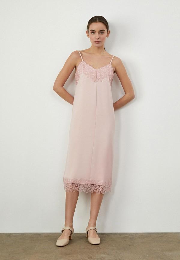 женский сарафан 12storeez, розовый