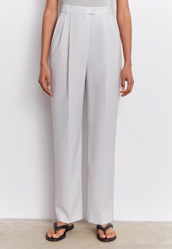 женские повседневные брюки 12storeez, серые