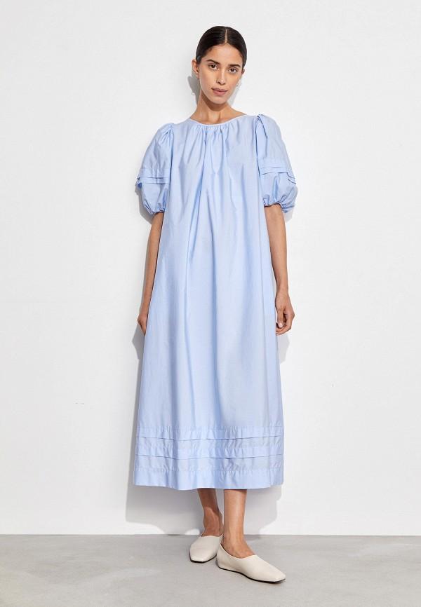 женское повседневные платье 12storeez, голубое