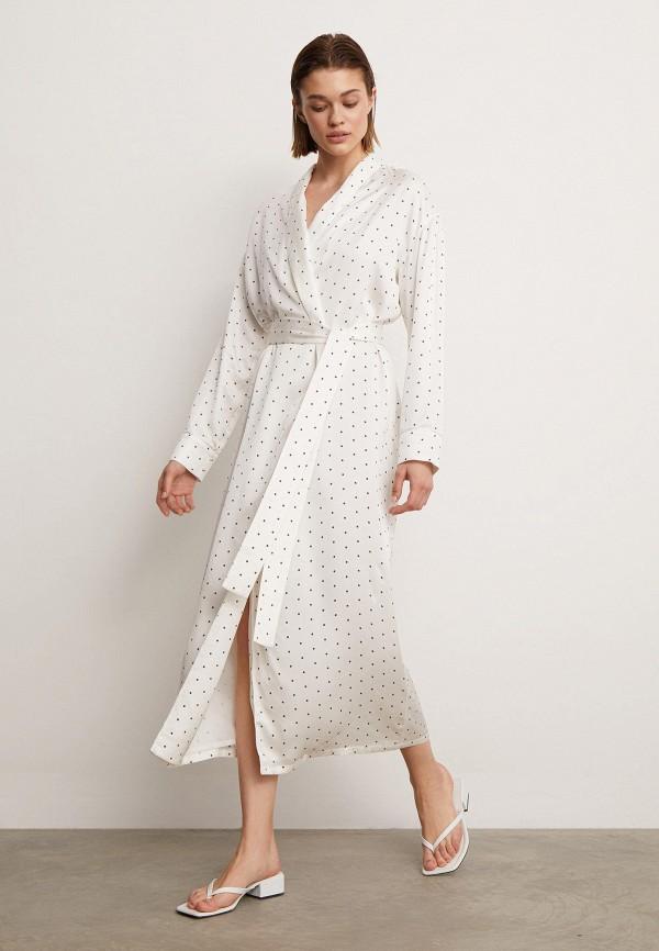 женское платье с запахом 12storeez, белое