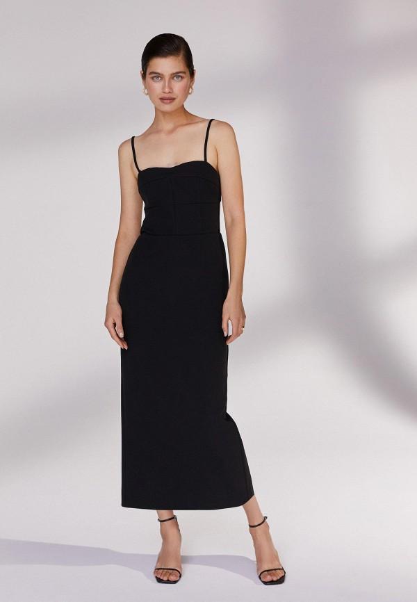 женское вечерние платье 12storeez, черное