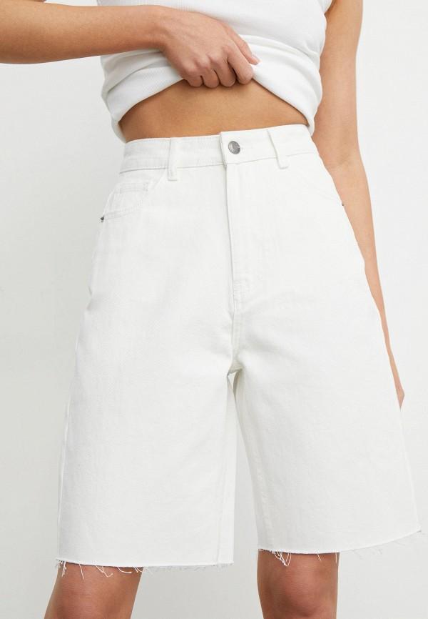 женские джинсовые шорты 12storeez, белые