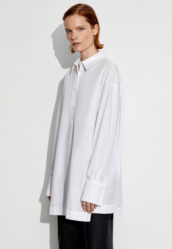 женская рубашка с длинным рукавом 12storeez, белая