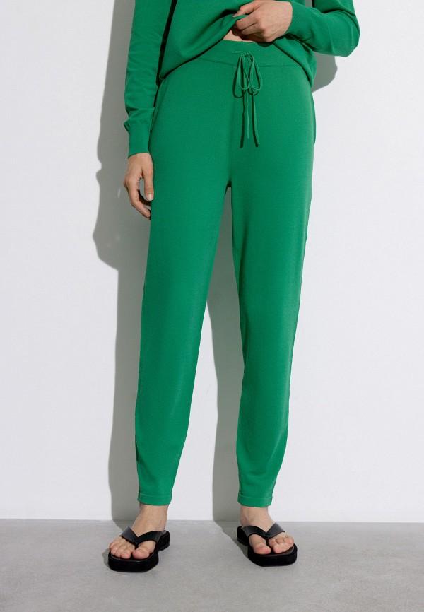женские повседневные брюки 12storeez, зеленые