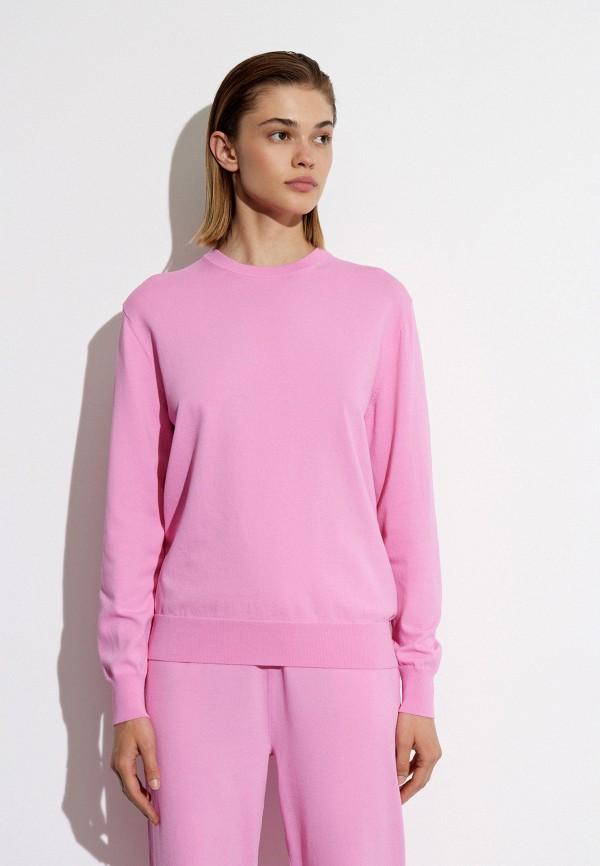 женский джемпер 12storeez, розовый