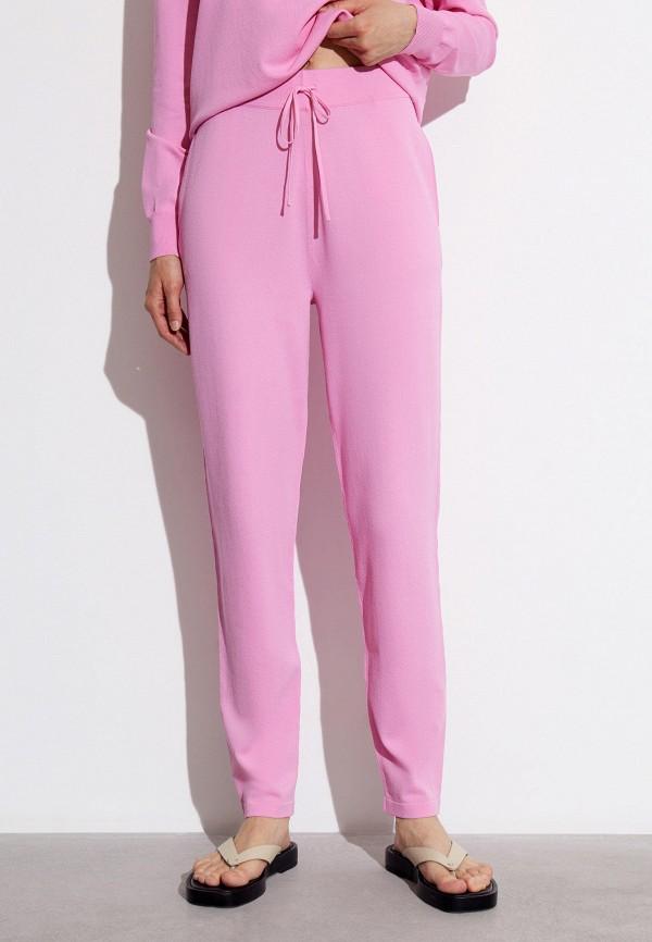 женские повседневные брюки 12storeez, розовые