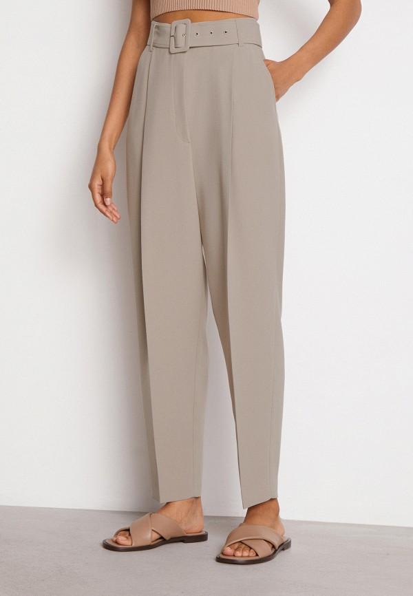 женские повседневные брюки 12storeez, бежевые