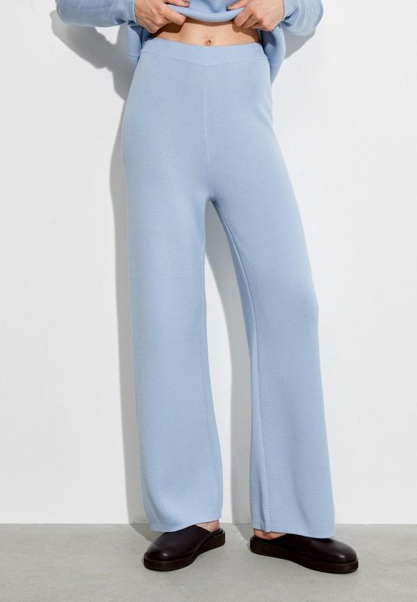 женские повседневные брюки 12storeez, голубые